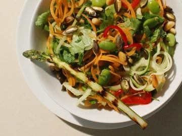 Super Green Quinoa Salad GF/DF